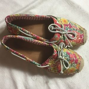 Sperry Top-Sider Floral Espadrilles